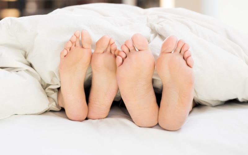 Halte aux pieds glaçons