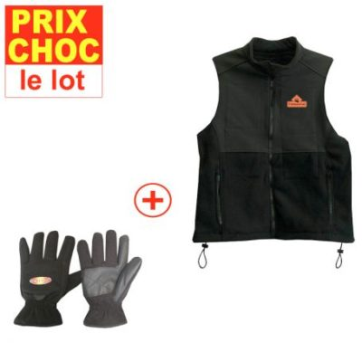 Veste et gants réchauffants