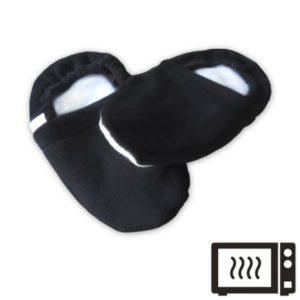 Chaussons bouillottes noirs